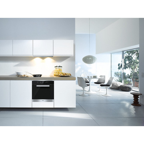 H 2661 B CleanSteel 60cm Wide Oven product photo View3 L