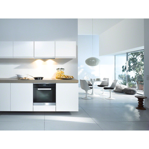 H 6260 B CleanSteel 60cm Wide Oven product photo View3 L