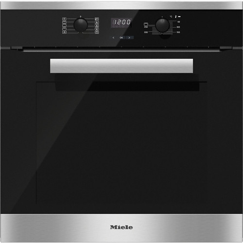 H 2661 BP CleanSteel 60cm Wide Oven product photo
