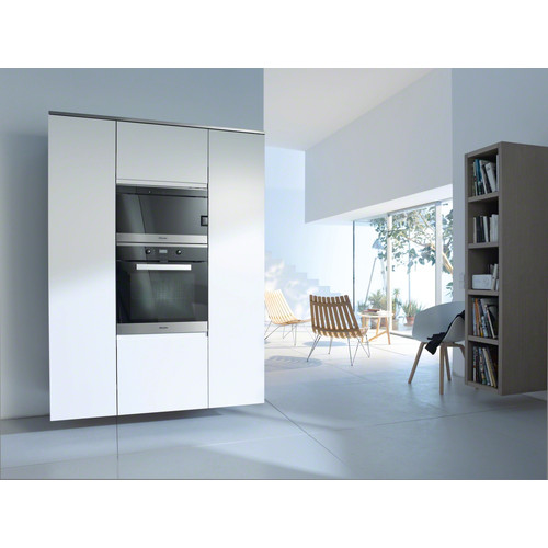 H 2661 BP CleanSteel 60cm Wide Oven product photo View3 L