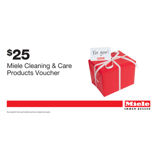 Miele for Life $25 Online shop voucher product photo Front View L