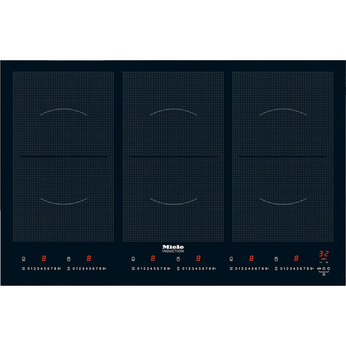 KM 6367-1 Induction cooktop with onset controls product photo