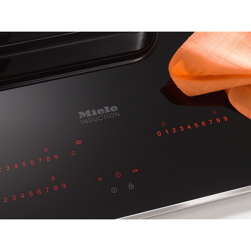 KM 6357 Induction Cooktop product photo Laydowns Back View L