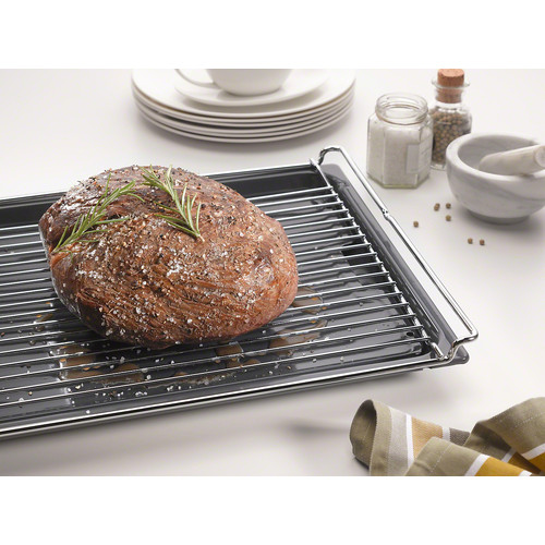 HBBR 50 Genuine Miele baking and roasting rack product photo Laydowns Back View L