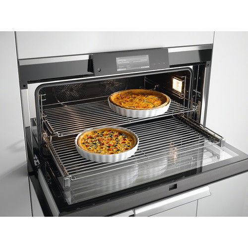 HBBR 92 Genuine Miele baking and roasting rack product photo Laydowns Back View L