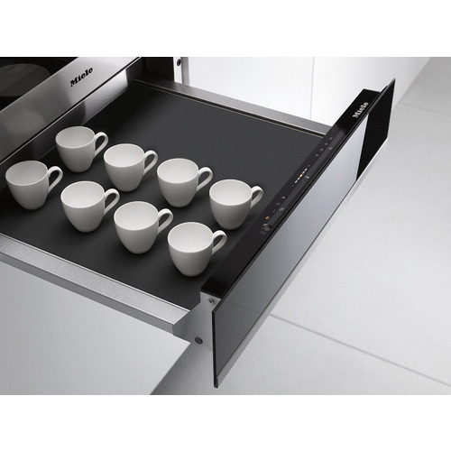 ESW 6214 14 cm high gourmet warming drawer without handle product photo Laydowns Back View L