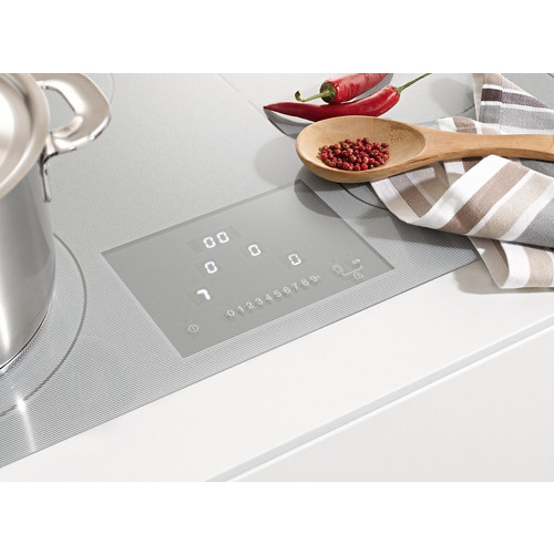 KM 6349-1 Induction cooktop with onset controls product photo Laydowns Back View L