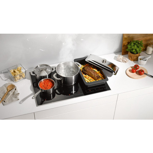 KM 6366-1 Induction cooktop with onset controls product photo Laydowns Back View L