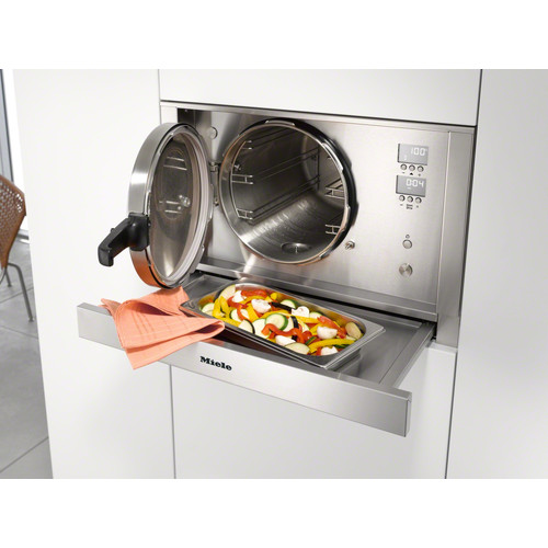 DGD 4635 Steam oven with pressure product photo Laydowns Back View L