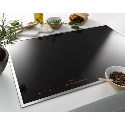 KM 6629 Induction cooktop with onset controls product photo Laydowns Back View L