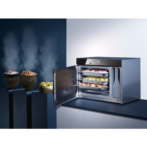 DG 6010 Black Countertop steam oven product photo View2 L
