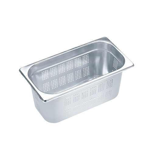 DGGL 10 Perforated steam cooking containers product photo Front View L