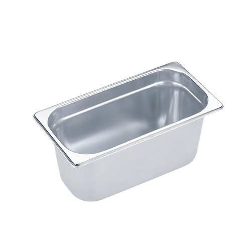 DGG 9 Unperforated steam cooking container product photo Front View L