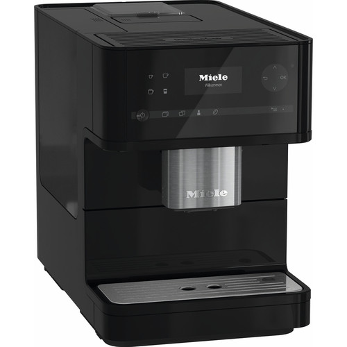 CM 6150 Benchtop Coffee Machine - Obsidian Black product photo Front View L