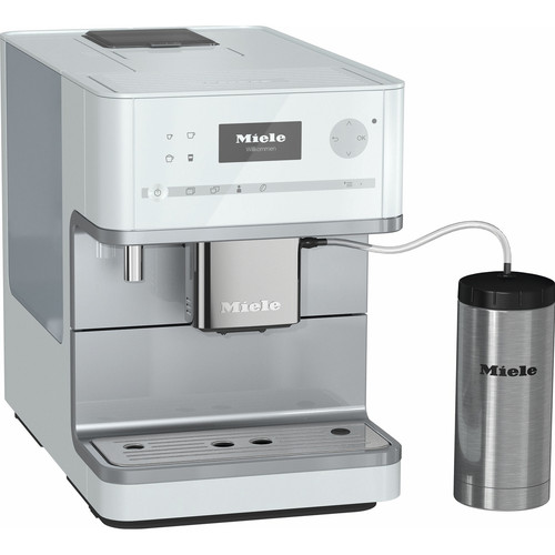 CM 6350 Benchtop Coffee Machine - Lotus White product photo Front View L
