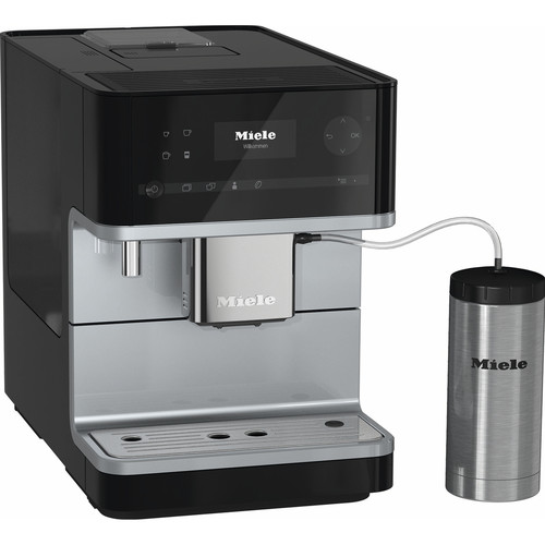 CM 6350 Benchtop Coffee Machine - Obsidian Black product photo Front View L