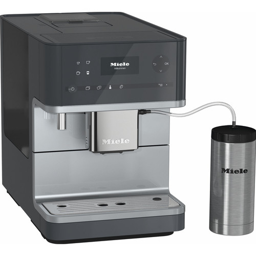 CM 6350 Benchtop Coffee Machine - Graphite Grey product photo Front View L