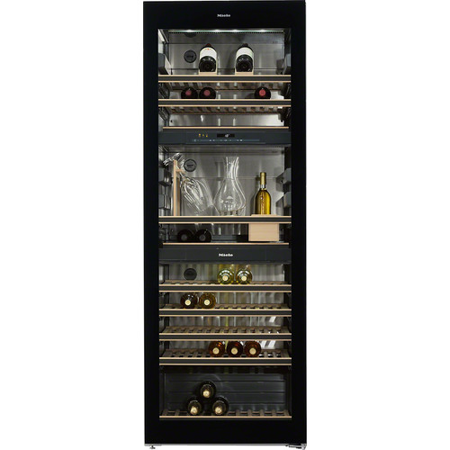 KWT 6834 SGS Freestanding wine conditioning unit product photo Laydowns Detail View L