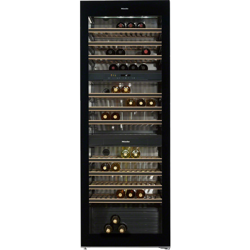KWT 6833 SG Freestanding wine conditioning unit product photo Laydowns Detail View L