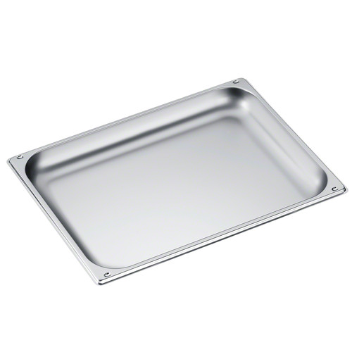 DGG 21 Unperforated steam cooking container product photo Front View L