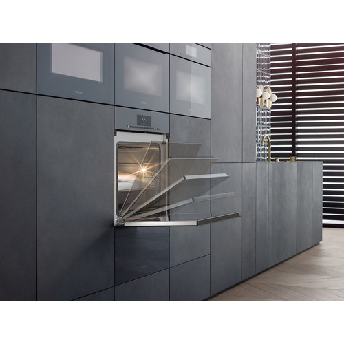 DGC 6860X Handleless XXL steam combination oven with fully-fledged oven function product photo Laydowns Back View L