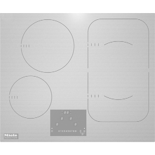 KM 6324-1 Induction hob with onset controls product photo Front View L