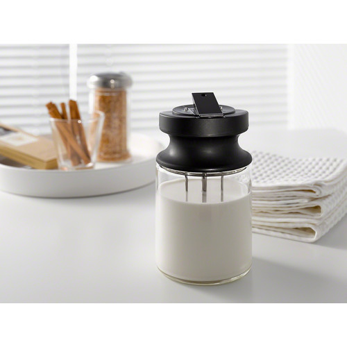 MB-CVA 6000 Milk container made of glass product photo Laydowns Back View L