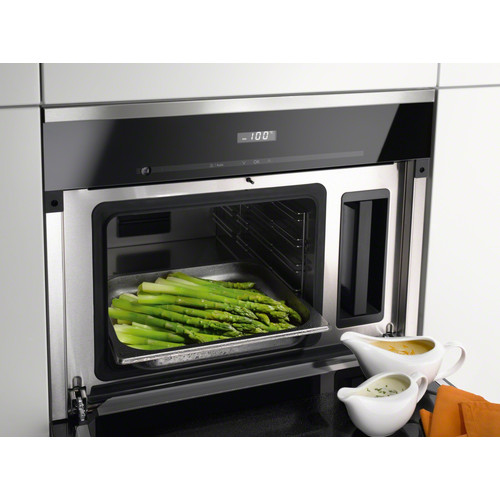 DG 6200 Built-in steam oven product photo Laydowns Back View L