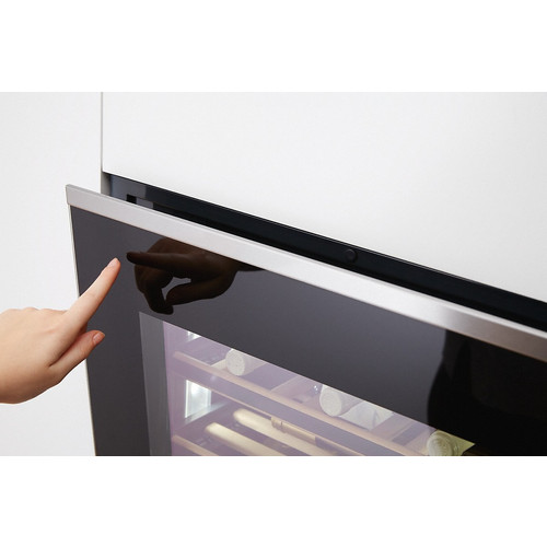 KWT 6312 UGS Built-under wine conditioning unit product photo Laydowns Back View L