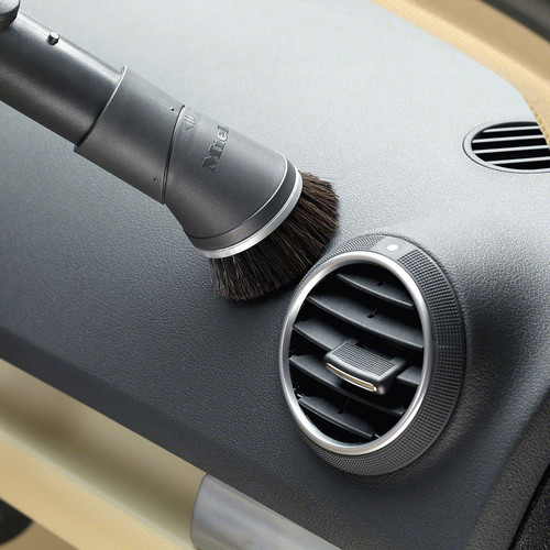 SSP 10 Dusting brush with flexible swivel joint product photo Laydowns Back View L