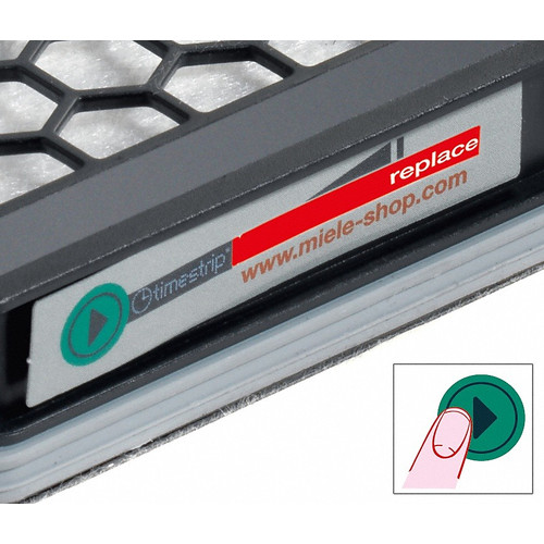 SF AA 50 Active AirClean filter with timestrip® product photo Laydowns Back View L