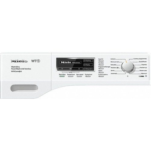 WTH 130 WPM Washer-Dryer product photo Back View L