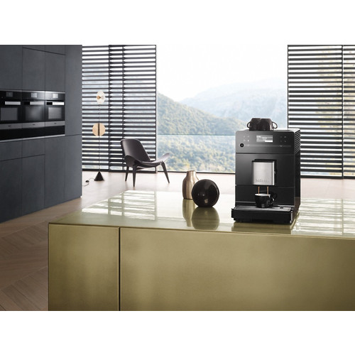 CM 5300 Obsidian Black Benchtop Fresh Bean Coffee Machine product photo Laydowns Detail View L