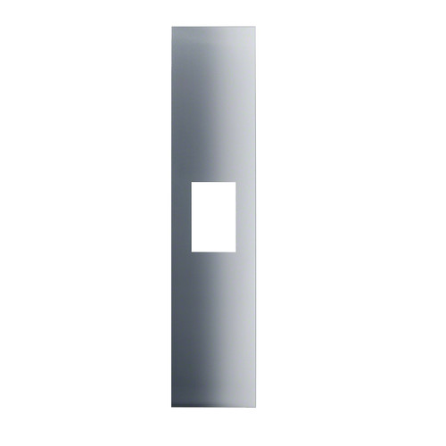 KFP1240ss Stainless steel front product photo Front View L