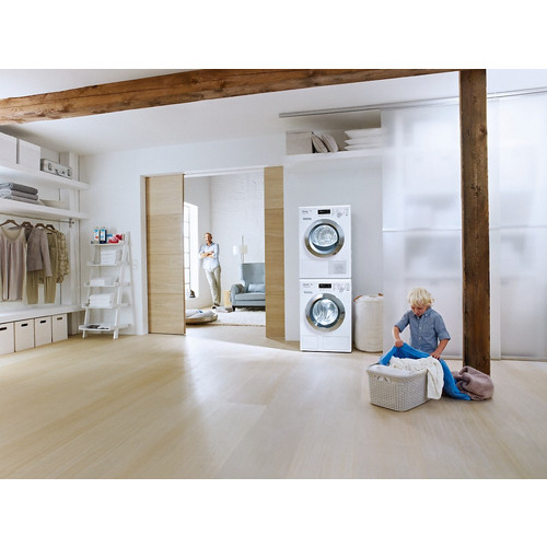 WTV 501 Washer-dryer stacking kit product photo Back View L