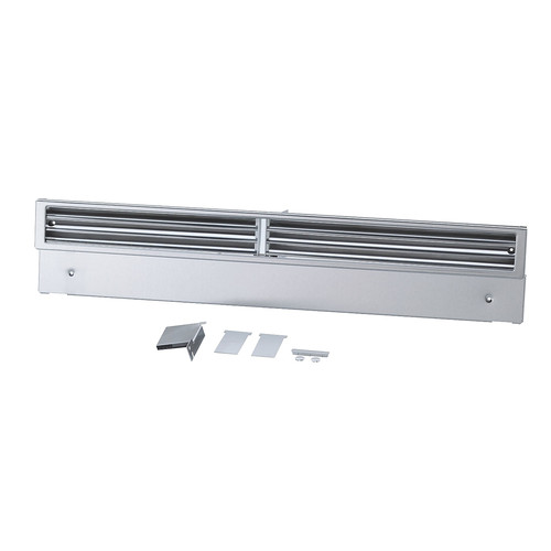 KG 1390 ss Lower plinth vent grille product photo Front View L