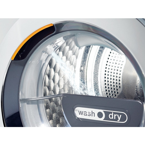 WTH120 WPM PWash 2.0 & TDos WT1 washer-dryer product photo Back View L