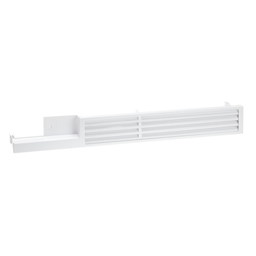 KG1092w Upper plinth vent grille product photo Front View L