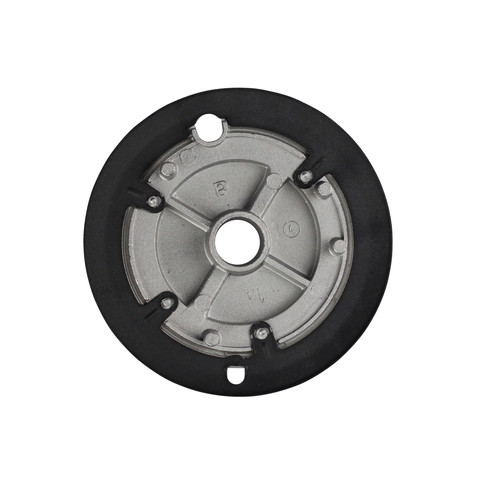 Miele Cooktop & Combiset Burner Cap - Spare Part 08222910 product photo Back View L