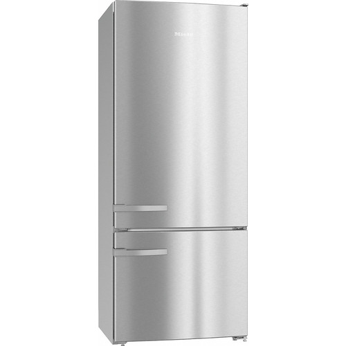 KFN 15842 D edt/cs Freestanding fridge-freezer product photo Back View L