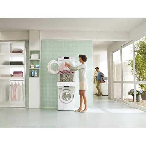 WTV 512 Washer-dryer stacking kit product photo Back View L