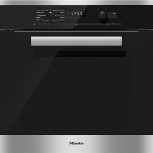H 6260 BP CleanSteel 60cm Wide Oven product photo