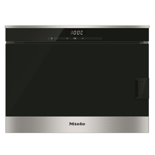DG 6010 CleanSteel Countertop steam oven product photo Front View L