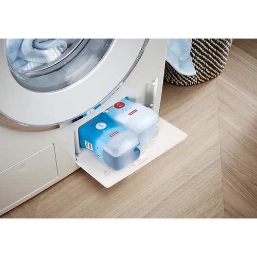 WCE 660 8KG Front-loading washing machine product photo Back View L