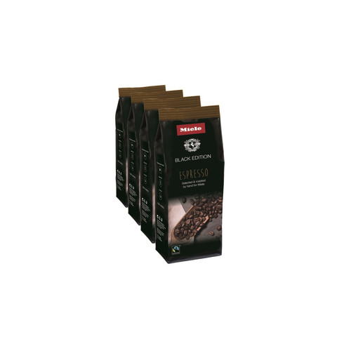 Miele Coffee Black Edition ESPRESSO 4x250g product photo Front View L
