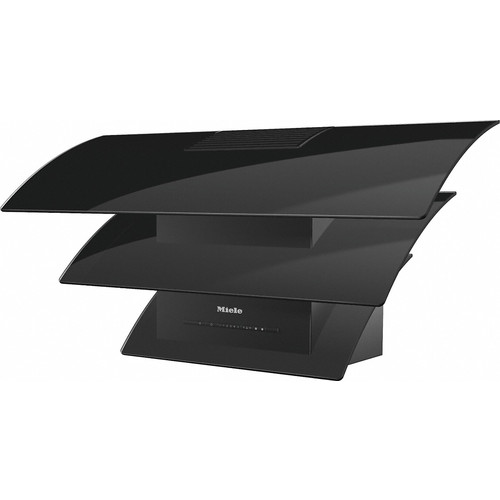 DA 7198 W Triple Black Wall mounted cooker hood product photo Front View L