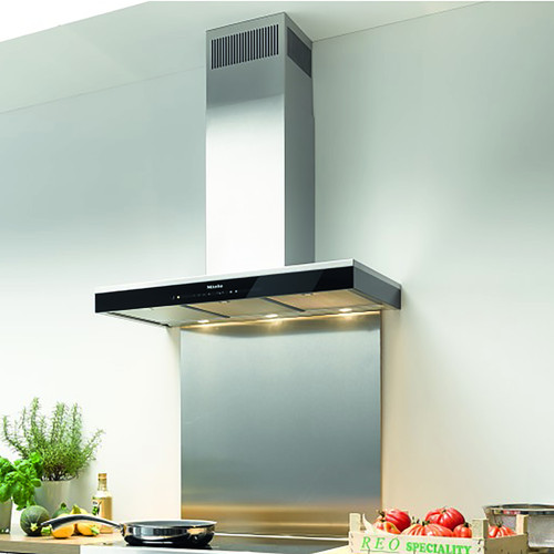 DA 6698 W Puristic Edition 6000 Cleansteel Rangehood product photo Back View L