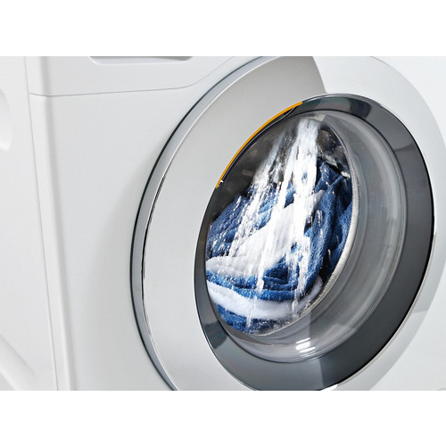WCR 860 WPS 9kg Front-loading washing machine product photo Back View L