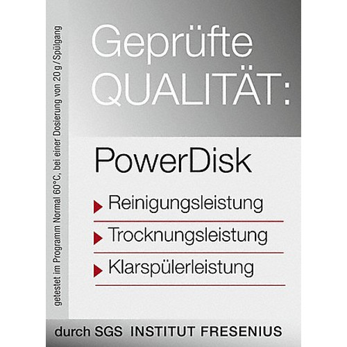 """GS CL 4001 P """"PowerDisk All in 1"""", 400 g product photo Laydowns Back View L"""