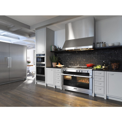 HR 1956 G 48 inch Freestanding Cooker product photo Back View L